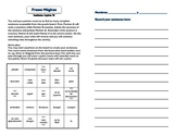 Frases Magicas Realidades 7B cooperative learning magic sentences grammar vocab