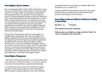 Frases Magicas Realidades Para Empezar PE cooperative learning magic sentences