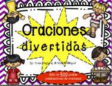 Frases/Oraciones divertidas: lectura, escritura, gramática