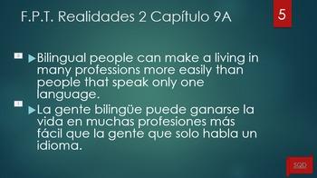 Frases Para Traducir Capítulo 9A Realidades 2
