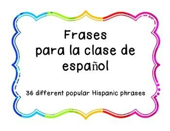 Frases Populares en Español