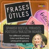 Frases Utiles/Spanish Useful Phrases Posters/Bulletin Board