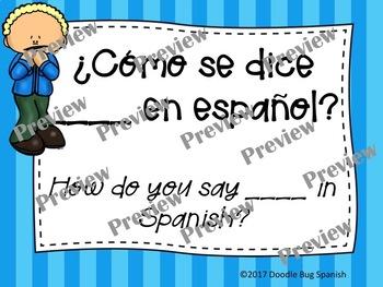Frases Útiles/ Useful Phrases (Spanish)