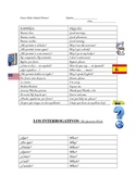 Frases Utiles para la clase (Useful Phrases for the Spanis