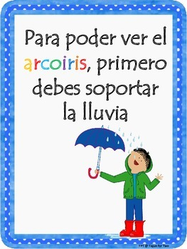 10 SPANISH POSTERS Frases motivadoras Motivational Posters
