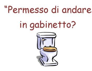 Frasi per la classe  Italian classroom phrases for students
