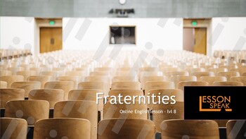 Fraternities lvl 8 (Distance Learning)