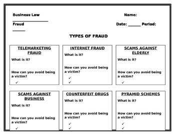 Fraud Research Organizer