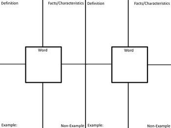 Frayed Vocabulary Worksheet