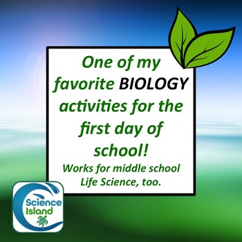 Frayer Model Activity on LIFE for Biology or Life Science