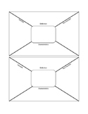 Frayer Model Blank Vocabulary Cards- Interactive Student Notebooks
