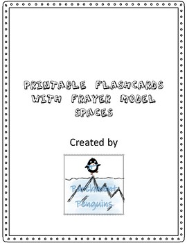 Frayer Model Flashcards