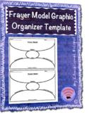 Frayer Model Graphic Organizer Template
