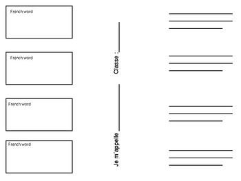 Frayer Model Inspired Vocabulary Practice