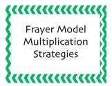 Frayer Model Multiplication Strategies