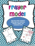 Frayer Model - Numbers