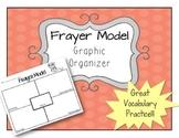 Frayer Model - Vocabulary Graphic Organizer ELA