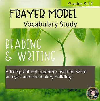Frayer Model Vocabulary Study