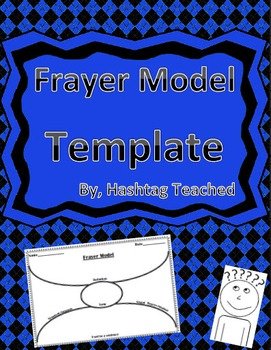Frayer Model Worksheet Template