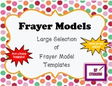 Frayer Models