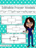 Editable Frayer Models For Mathematics Vocabulary (Prove o