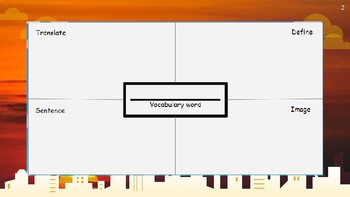 Frayer Models for DAILY Vocabulary! Colorful templates for ESL / ENL / EFL / ELA