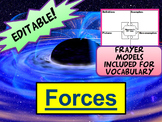 Frayer Models for Forces in 50+ Slide PowerPoint