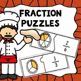 Fraction Puzzles - Math Center