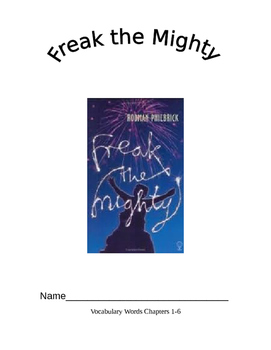 Freak The Mighty Bundle