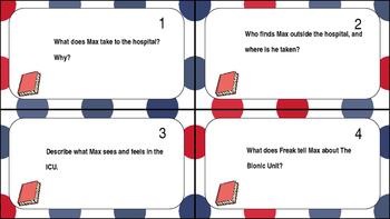 Freak The Mighty Task Cards Ch. 23-25