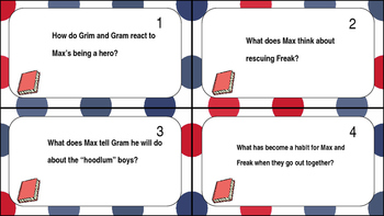 Freak The Mighty Task Cards Ch. 8-10