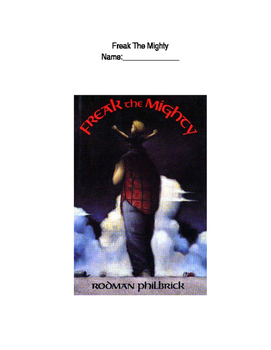 Freak The Mighty Unit Packet