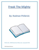 Freak The Mighty a 40 page Novel Guide