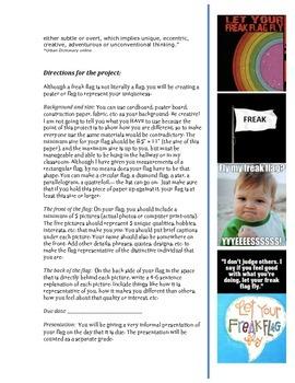 Freak flag project to celebrate individuality