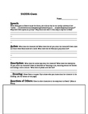Freak the Mighty Characterization Worksheet 1
