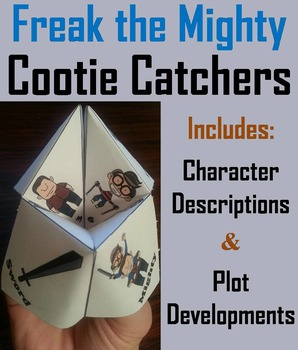 Freak the Mighty Activity  (Scoot Unit Review Game)