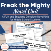 Freak the Mighty - A Complete, Skills-Based Unit