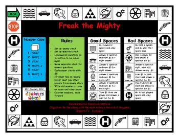 Freak the Mighty Board Game