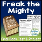 Freak the Mighty Bundle: Test and Book Report Project {25% Off}