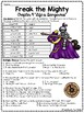 Freak the Mighty Chapter 9 Reading Comprehension Worksheet