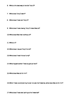 Freak the Mighty Chapter Questions