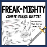Freak the Mighty Chapter Quizzes