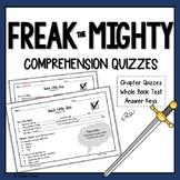 Freak the Mighty Quiz Set