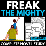 Freak the Mighty Novel Study Unit | Questions | Activities