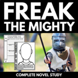 Freak the Mighty Novel Study Unit | Questions | Activities | Worksheets