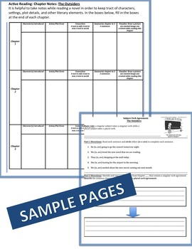 Freak the Mighty Complete Literature, Grammar, & Interactive Foldables Unit