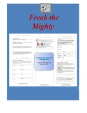 Freak the Mighty Complete Literature and Grammar Unit