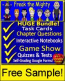 Freak the Mighty Free Grammar Activities Worksheet Novel Unit Study Common Core