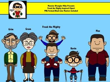 Freak the Mighty Inspired Clip Art Set