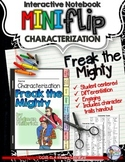FREAK THE MIGHTY: INTERACTIVE NOTEBOOK CHARACTERIZATION MINI FLIP
